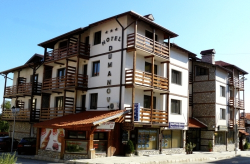 Klik hier om meer foto's van Hotel Dumanov te bekijken